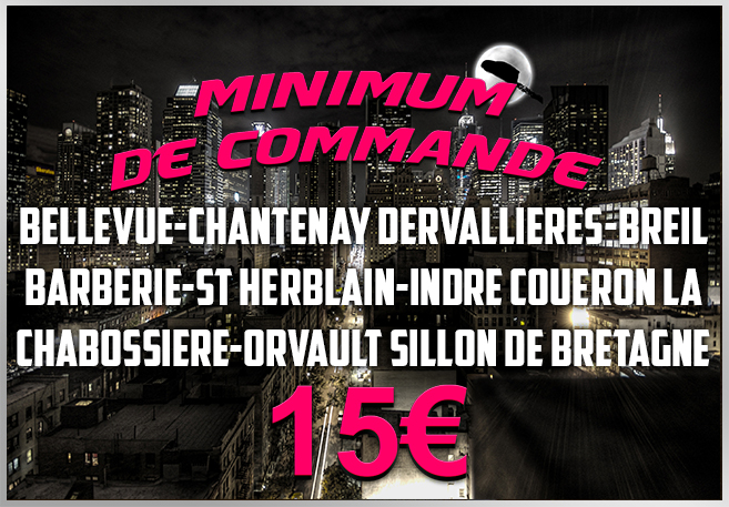 Minimum de commande zone 1
